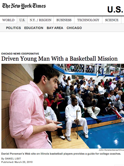 Daniel Poneman and SwagAir featured in the New York Times