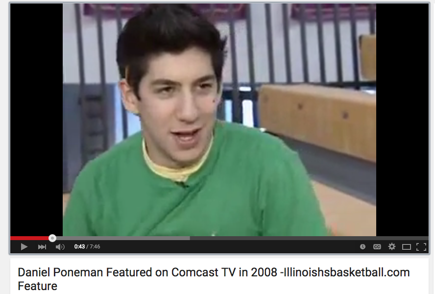 Daniel Poneman - Comcast Sportsnet 2008