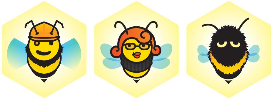 Busy Bee, Honey Bee, Bumble Bee