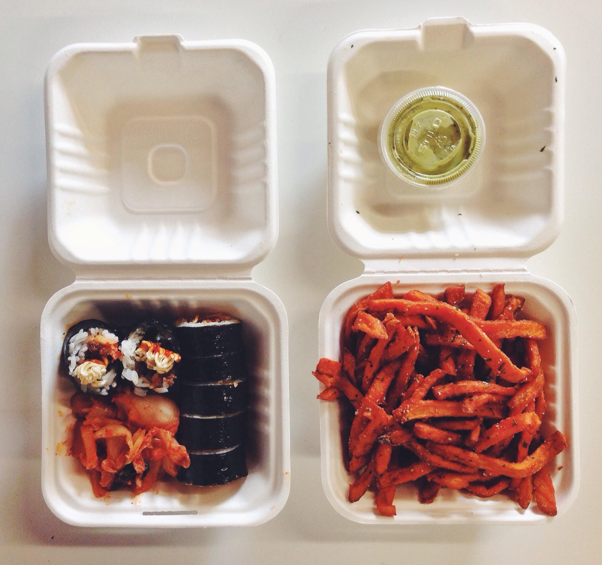 What lunch breaks look like now.