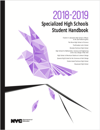 2018-20219 SHSAT Student Handbook
