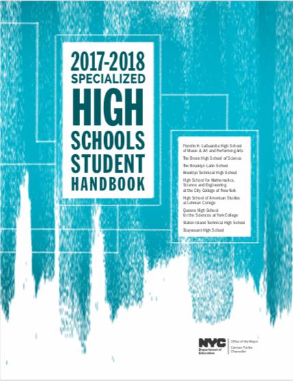 2017-2018 SHSAT Student Handbook