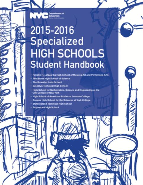 2015-2016 SHSAT Student Handbook