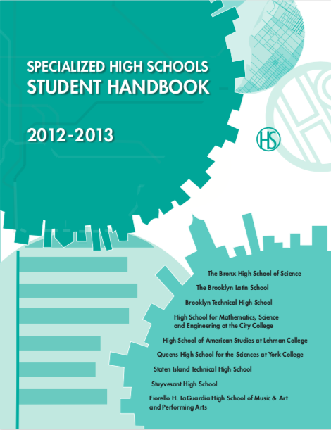 2012-2013 SHSAT Student Handbook