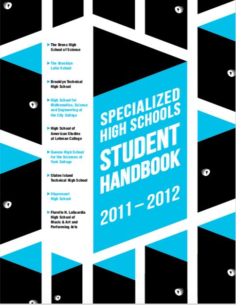 2011-2012  SHSAT Student Handbook