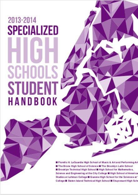 2013-2014 SHSAT Student Handbook