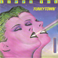 "Single cover for the ""Funkytown"" 7-inch   Single by Lipps Inc, scanned by Tchernomush and via Wikipedia"