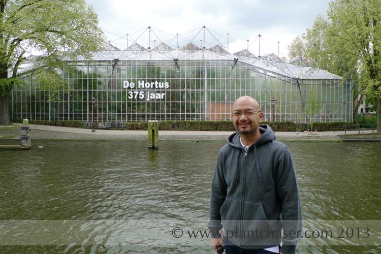 My first glimpse of de Hortus.