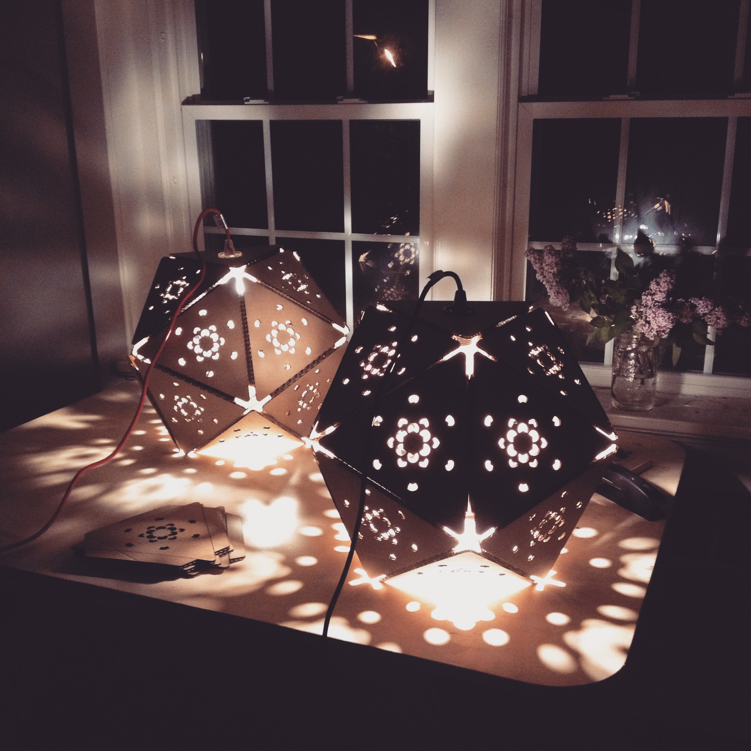 Polyhedra Lamps