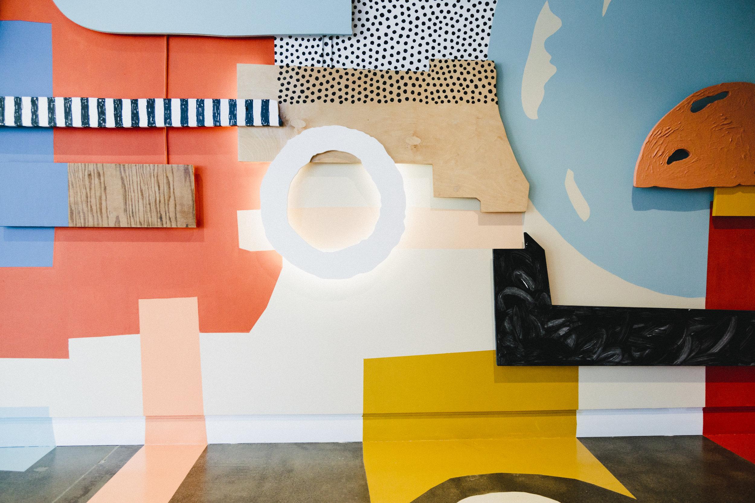 Installation for Facebook Artist in Residency Program