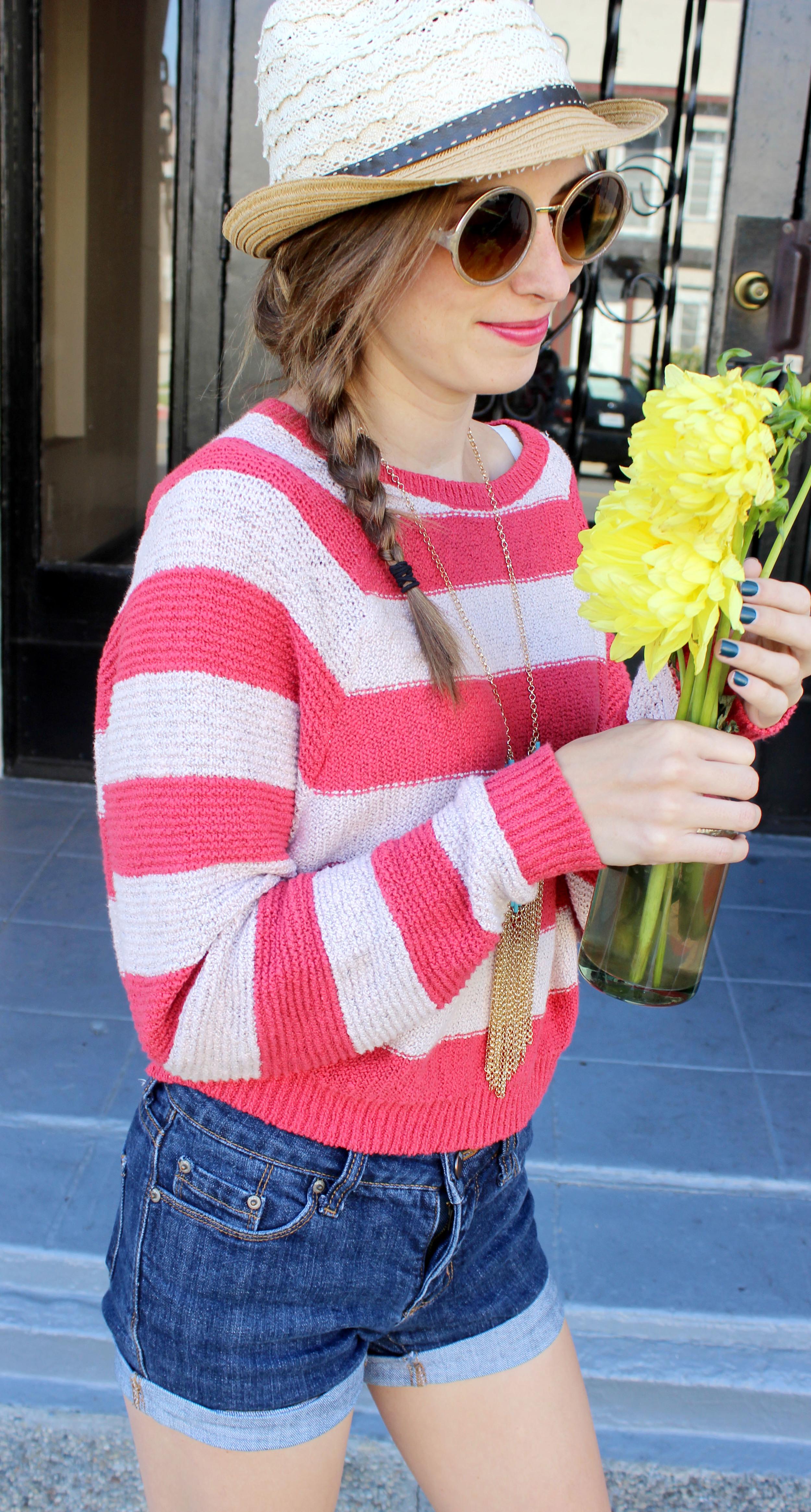 med shot glasses & flowers kelly stripes.jpg