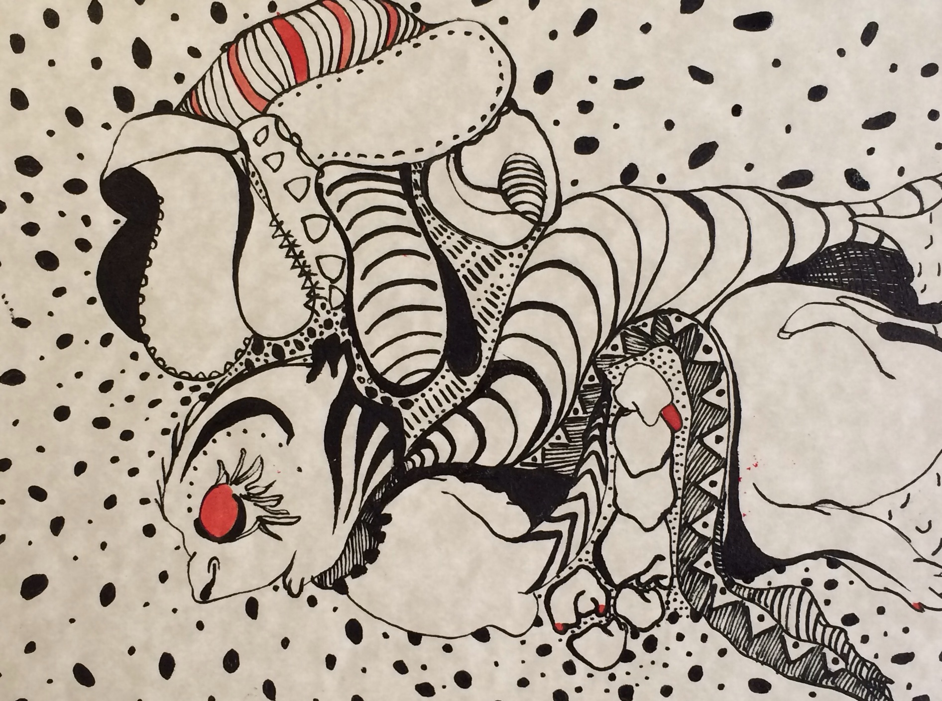 A Drawing A Day, Day 46 - 10.4.14