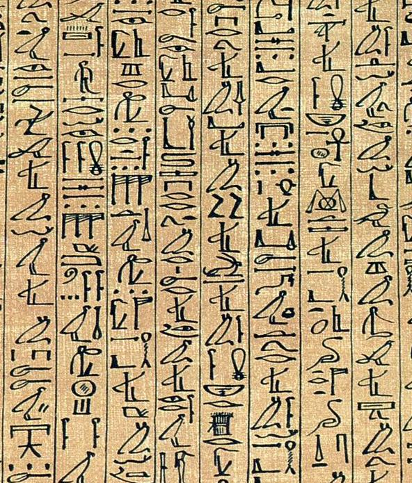 Egyptian Language Decipherment