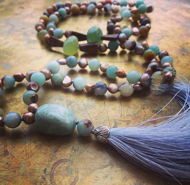Bead and Tassel Necklace Workshop