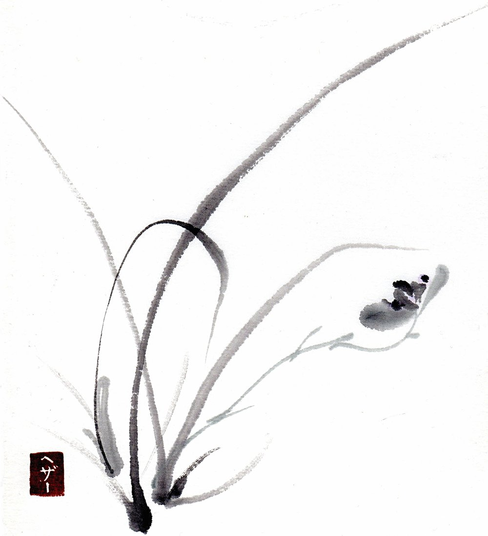 Japanese Painting (Sumi-e)