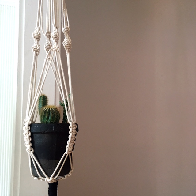 Macrame Plant Holder DIY
