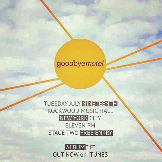 Tomorrow night at @rockwoodmusichall