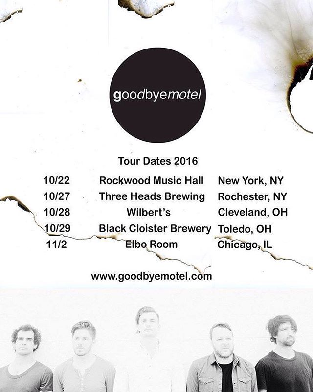 Tour time baby! We're headed out to the Midwest starting Thursday night at @threeheadsbrewing in Rochester, NY followed by Wilberts in Cleveland OH, Black Cloister Brewing in Toledo OH and finishing up at Elbo Room in Chicago IL on the 11/1 . Would love to get to know as many new faces as possible. If you know anyone in these cities, point them in our direction! #tour