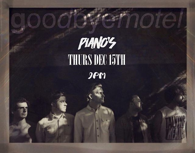 In two days we play our last show for 2016. What a year it has been.. come finish it up with a big 💥 this Thursday at @pianosnyc || 9pm ||