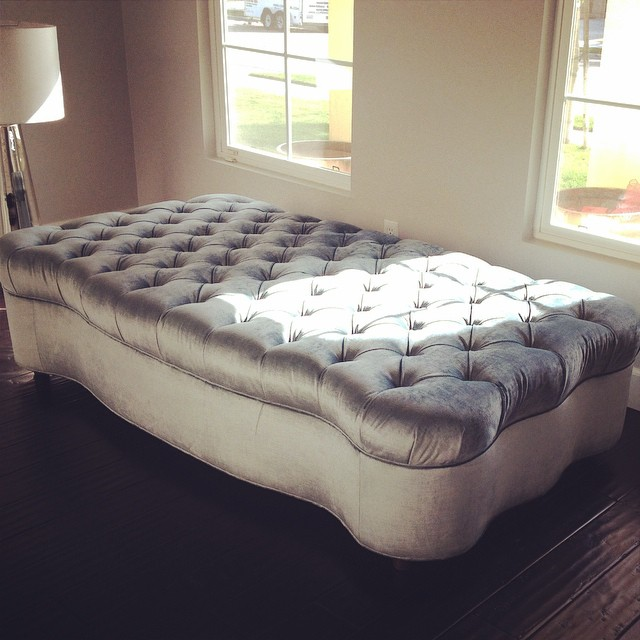 At Polo Bay we offer custom upholstery -  contact us  for a free consultation!