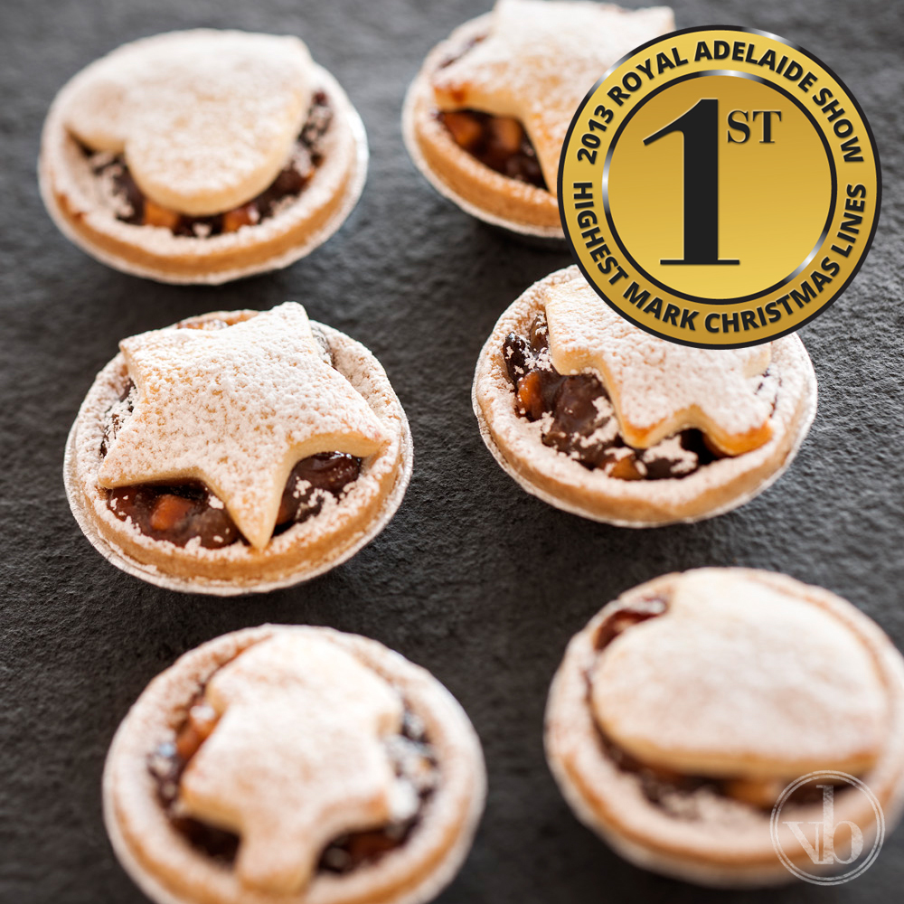 Ben's Fruit Tartlets – 1st Place 2013 Royal Adelaide Show
