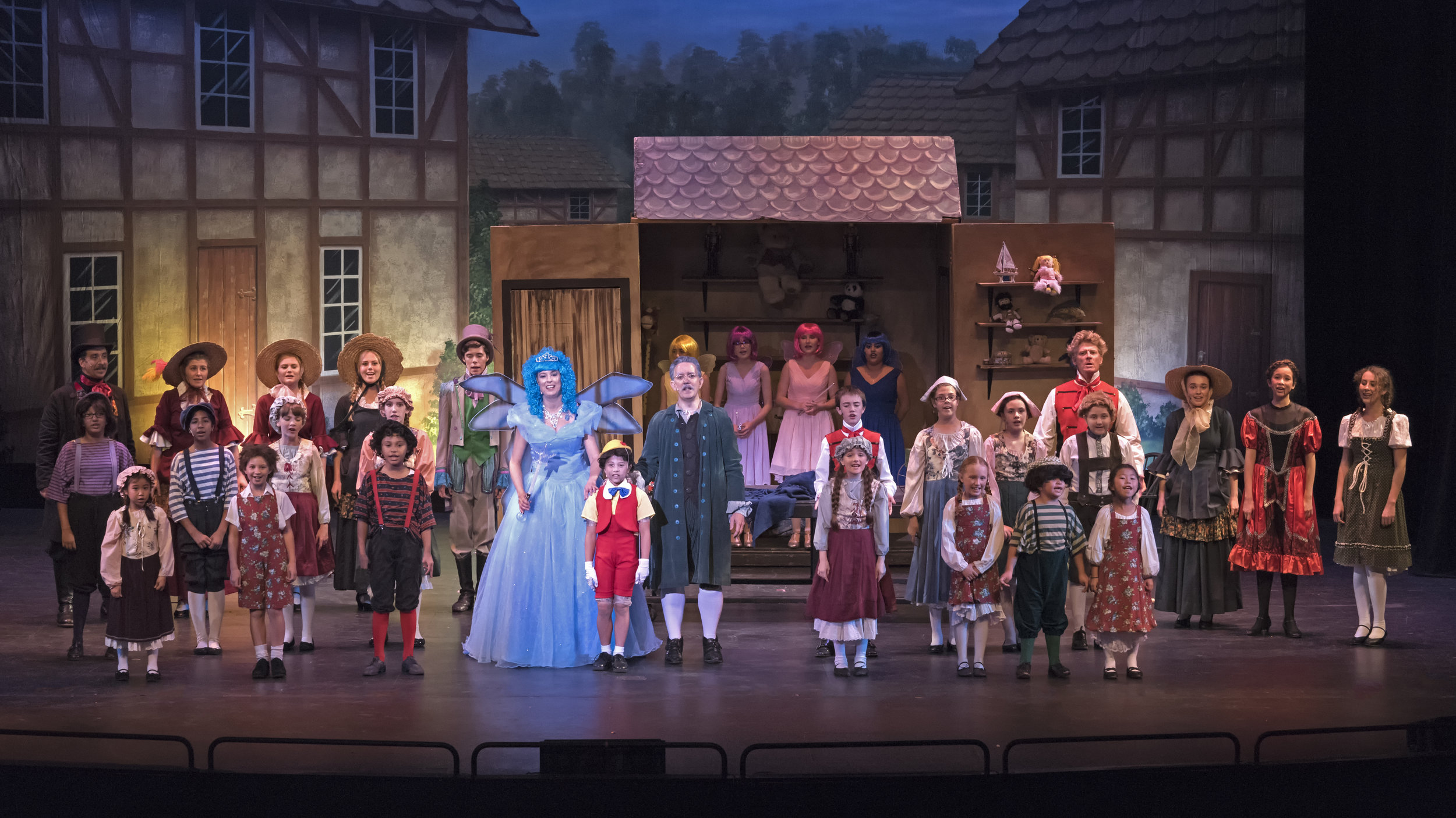 My Son Pinocchio  Premier Musical Theatre Company - Fall 2016