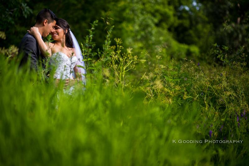 david + elizabeth wedding