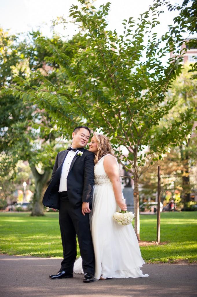 Justine and John   -  Boston Public Library Boston, MA