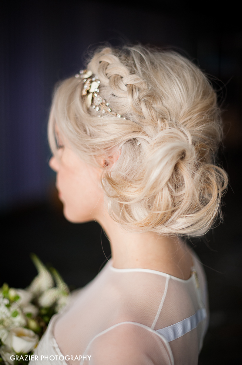Twigs and Honey Bridal Hairpiece