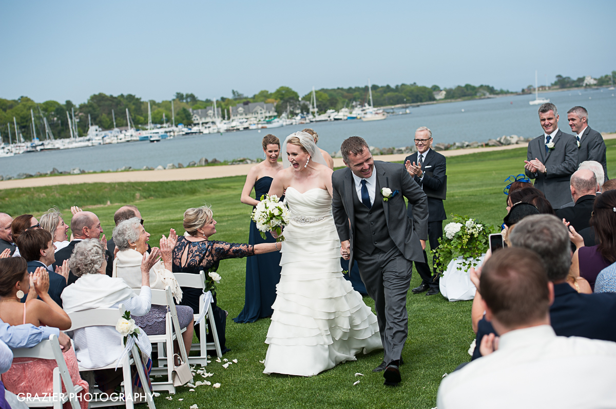 Wentworth by the Sea Country Club wedding, photographed by Grazier Photography