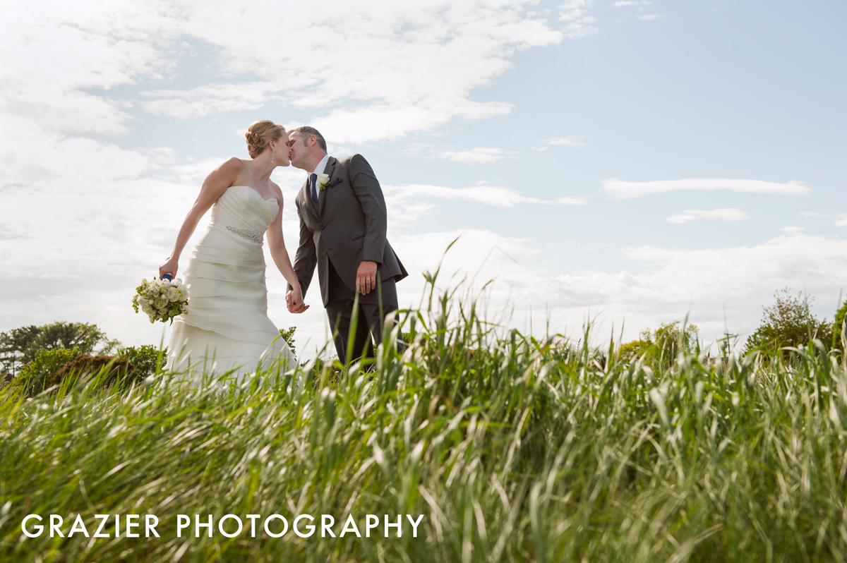 A wedding at  Wentworth by the Sea Country Club  in Rye, NH - photographed by Grazier Photography