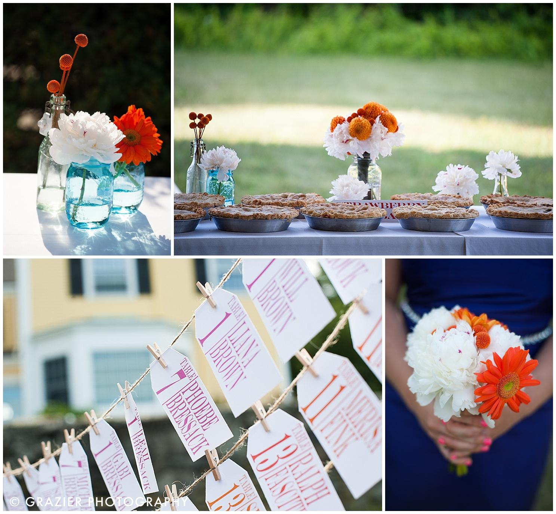 rustic Bristol Rhode Island wedding