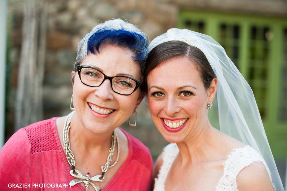 Joanne of  Joya Beauty  Willowdale Estate Wedding by Grazier Photography