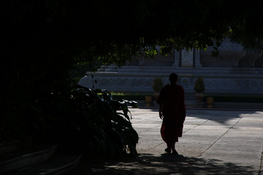 Little does this friendly monk know, he is being stalked by a shy photographer too polite to ask his permission for a photo.