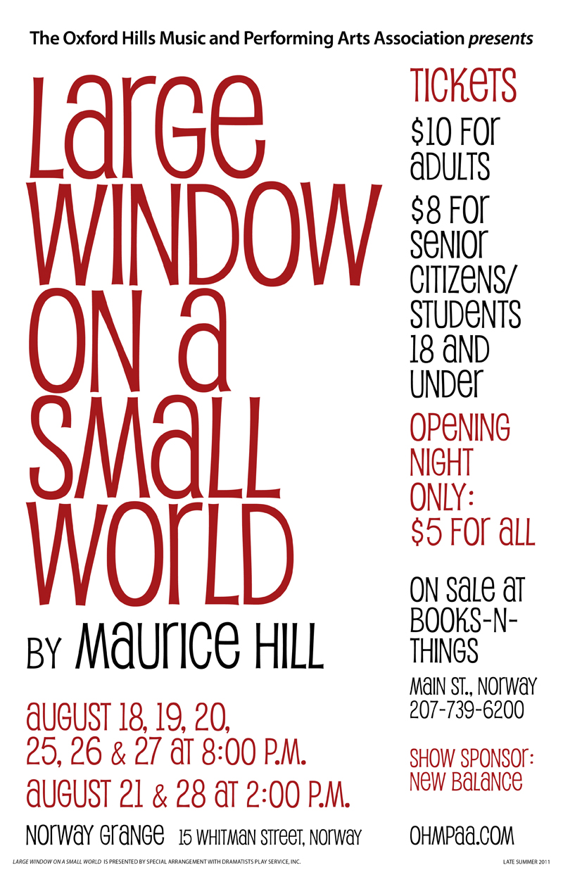 Large Window poster
