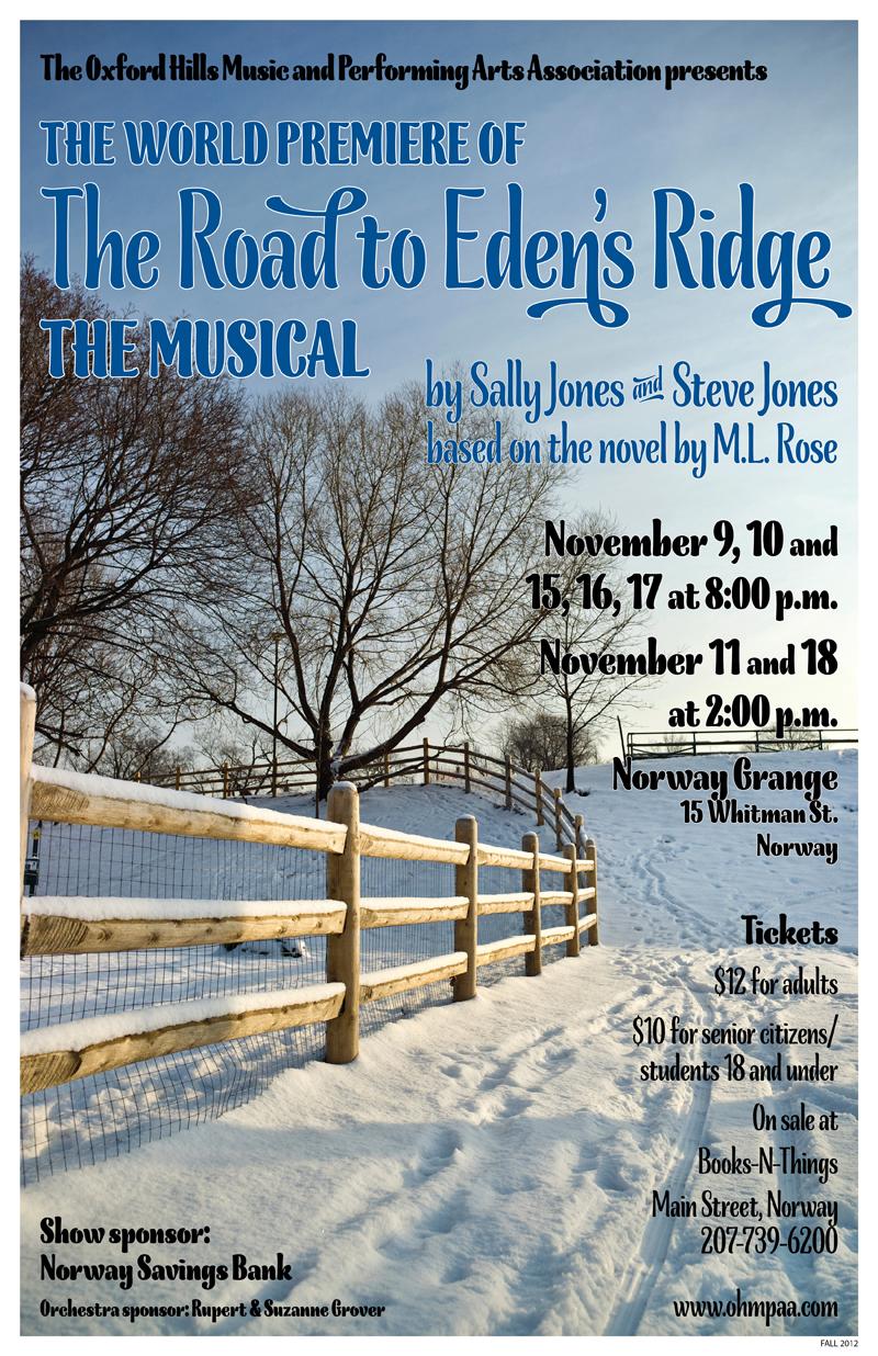The Road to Eden's Ridge poster