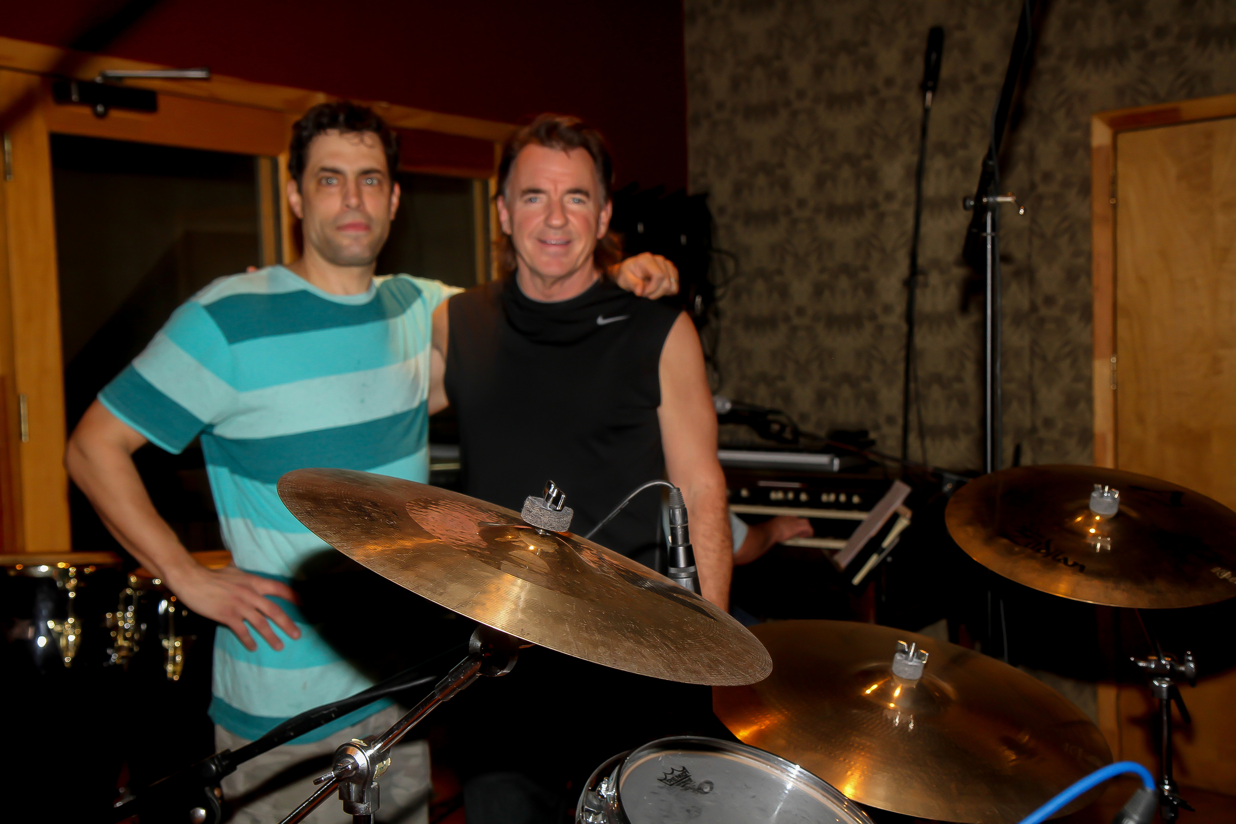 Wayne Killius, drummer extraordinaire, with a touch of Stewart Copeland thrown in for fun!