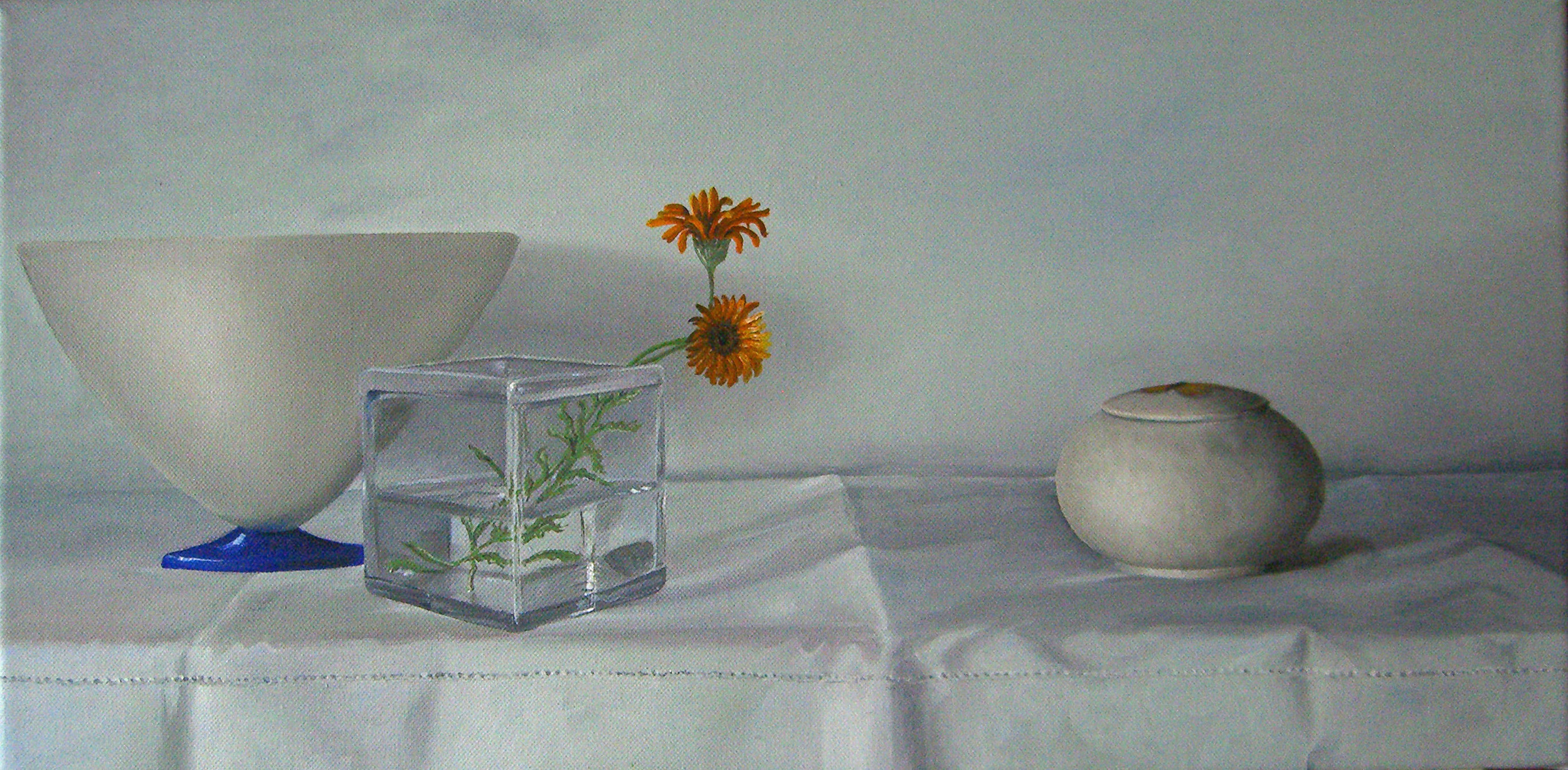 Still Life with White Cloth