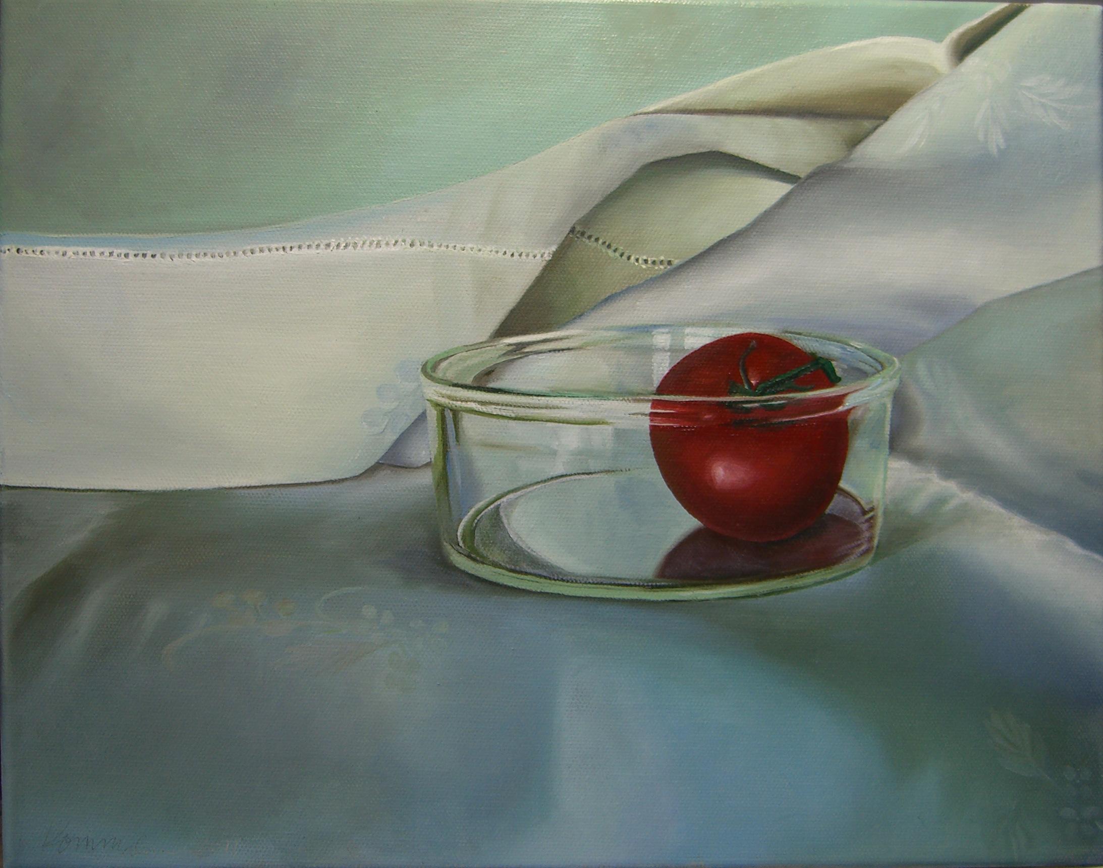 White Cloth with Tomato