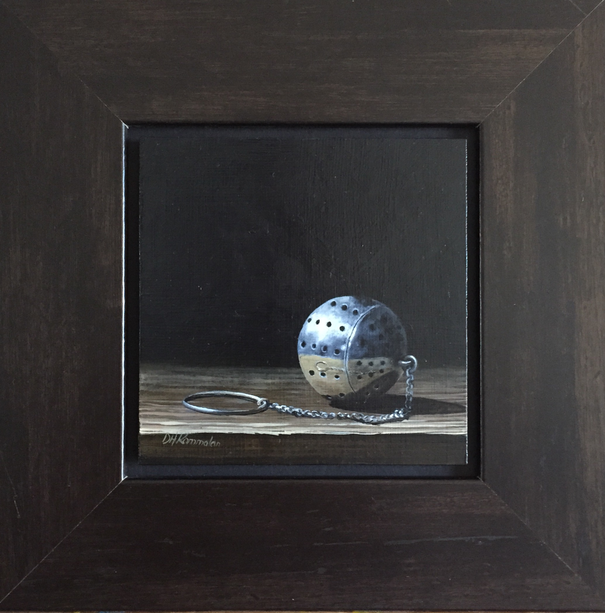 Tea Ball with Reflections