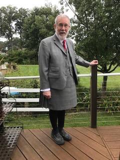 Glen Plaid Kilt Suit