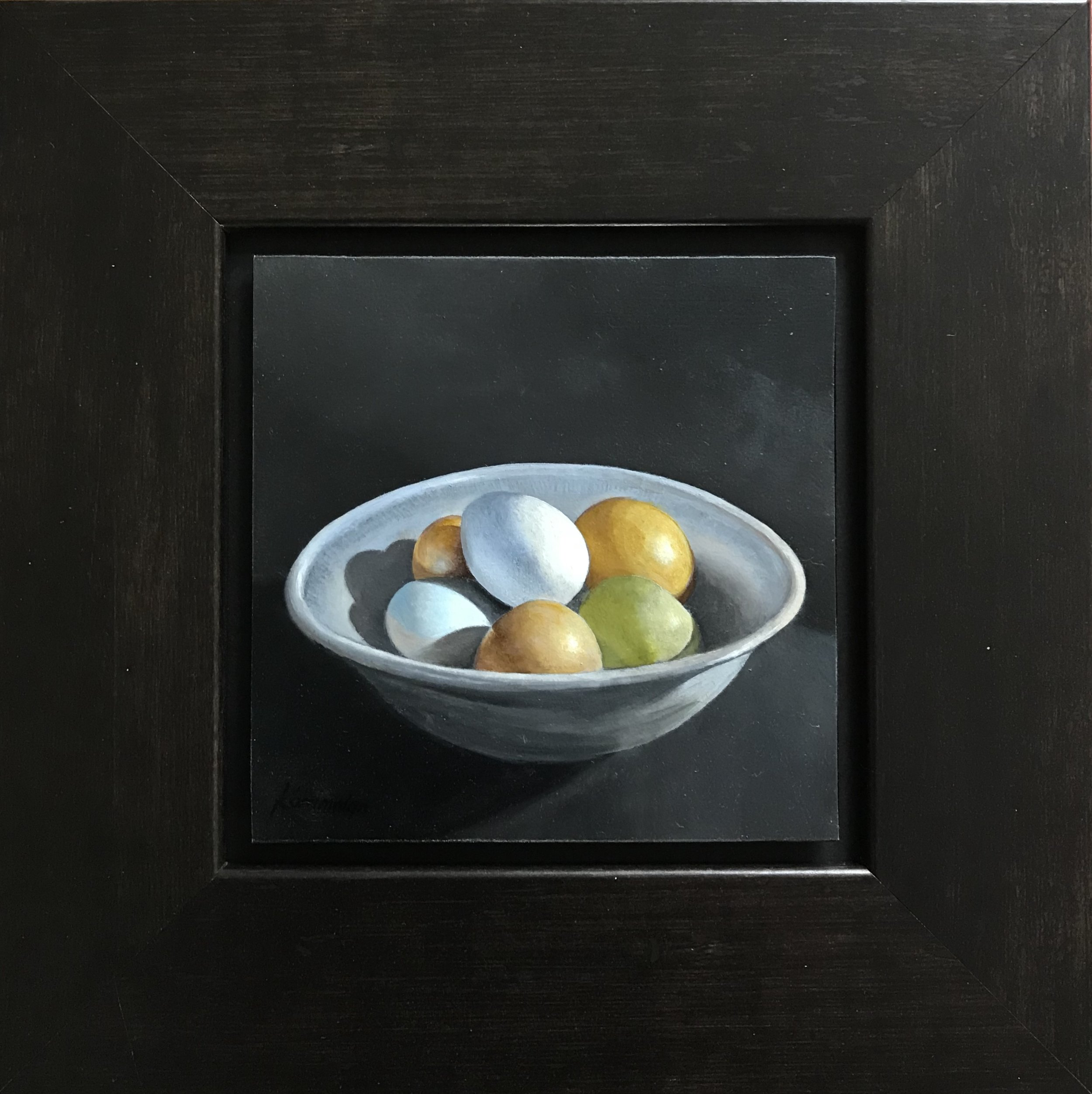 Eggs in a Blue Bowl  II