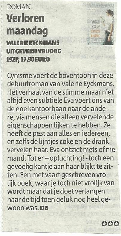 Gazet van Antwerpen 16 maart 2013