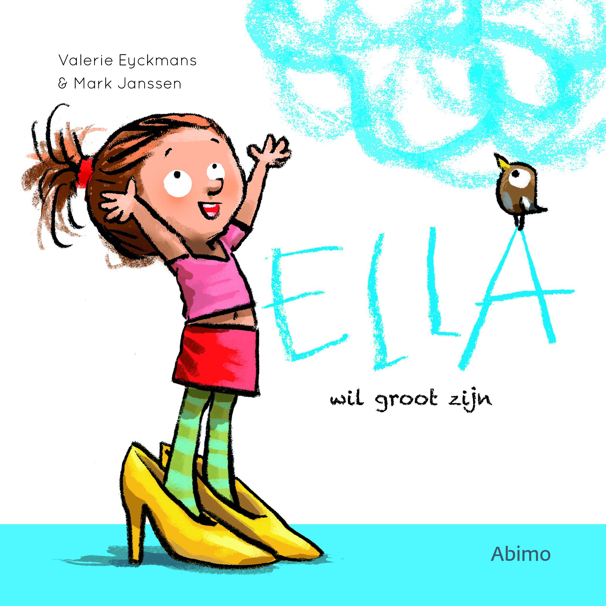 Ella wil groot zijn