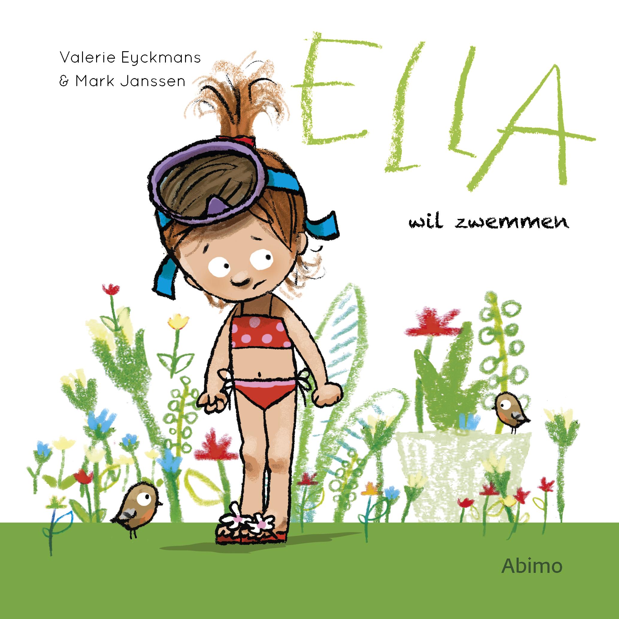 Ella wil zwemmen