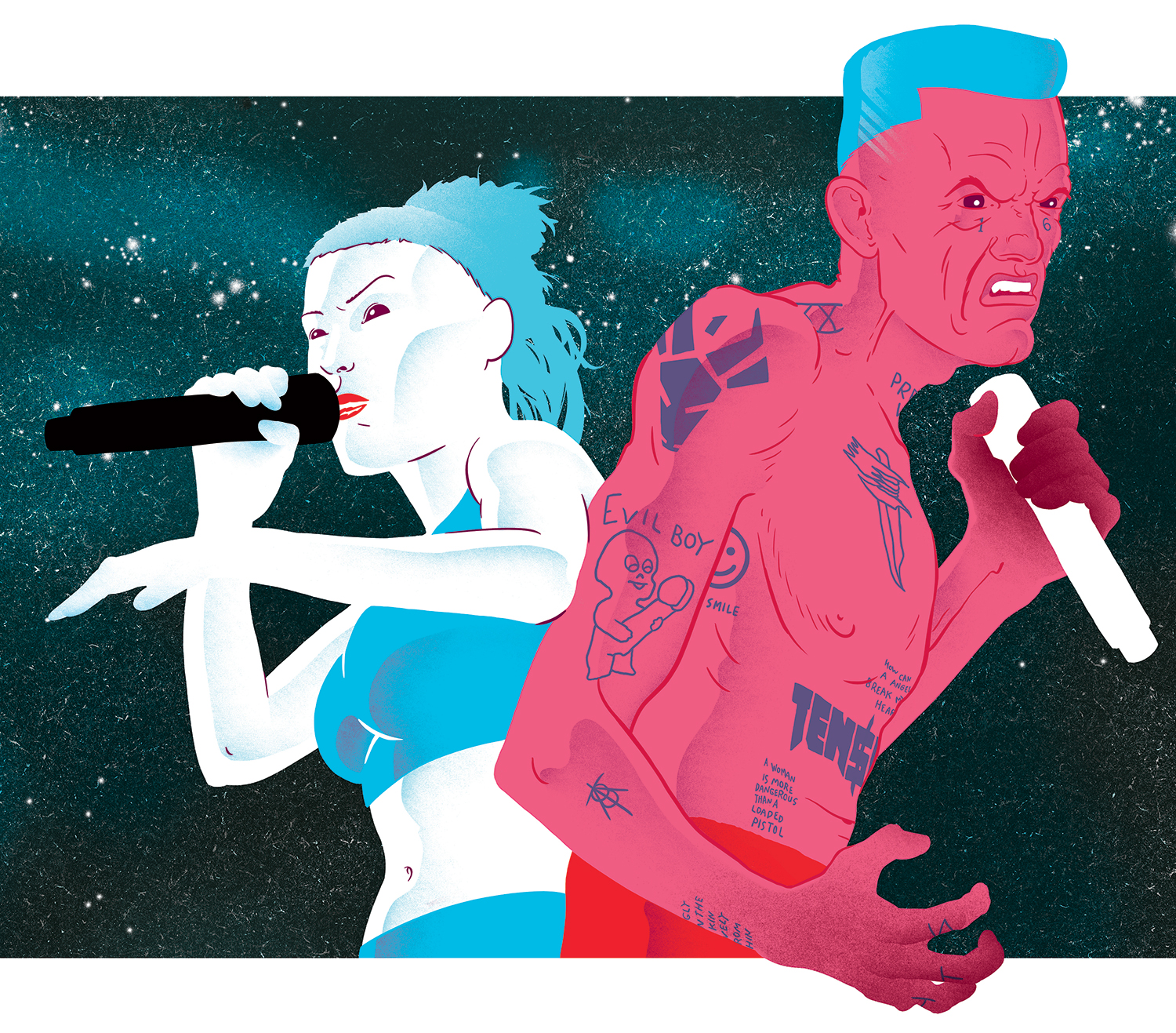 Die Antwoord for Exclaim! magazine
