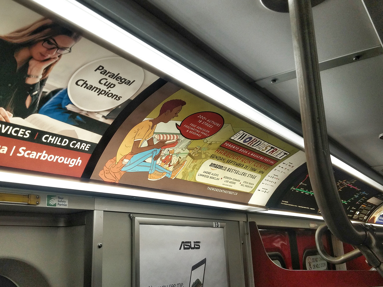 TTC Subway ad