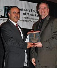 Young Engineer of the Year Dr. Adel Nasiri & Van Walling