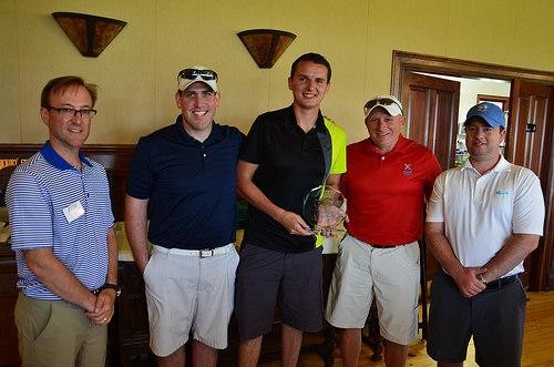 1st Place Team: Brian Finnigan, Brian Van Swol, Adam Herried, and Eric Hawkinson