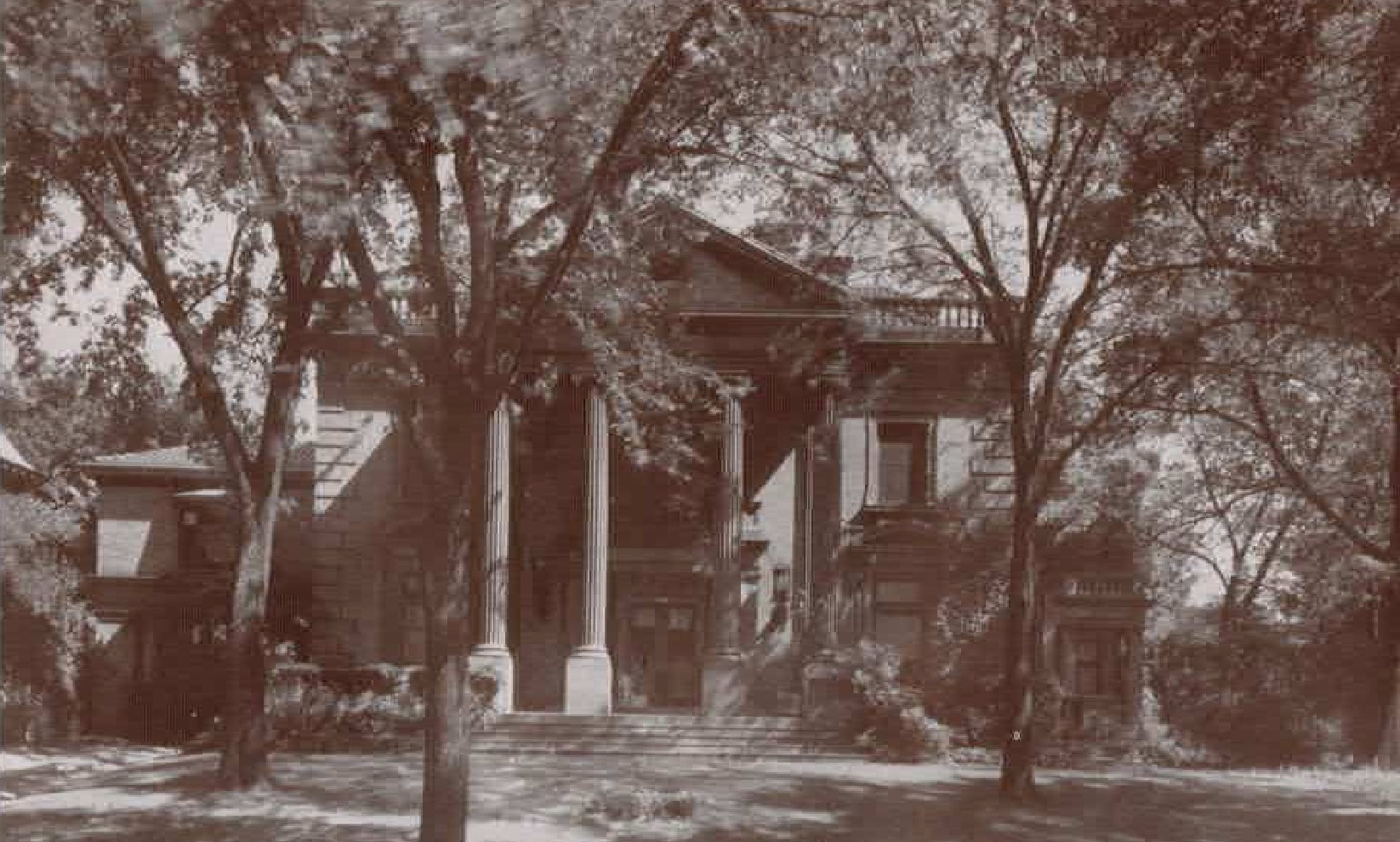 The Society's headquarters were located in the stately Pabst mansion from 1944-1970.
